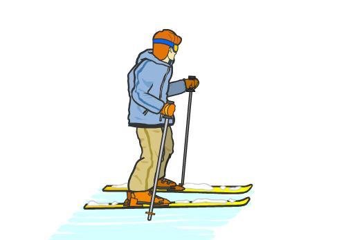 Putovanja Škola skijanja za početnike koračanje